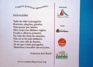 VIAGENS POÉTICAS LANÇADA NESTA QUINTA-FEIRA