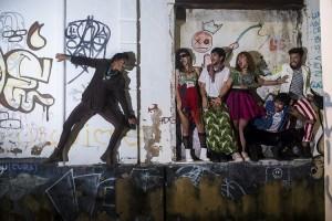 Espetáculo Bando de Pássaros Gordos em cartaz Teatro da Terça