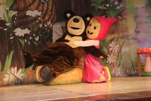 Espetáculo infantil Masha e o Urso no Theatro José de Alencar