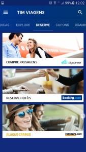 TIM traz novas parcerias para seu aplicativo de viagens