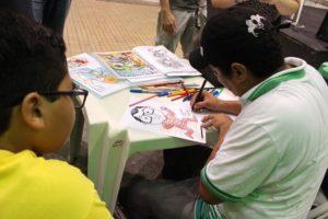 Feira de quadrinhos cearenses  no Mercado dos Pinhões