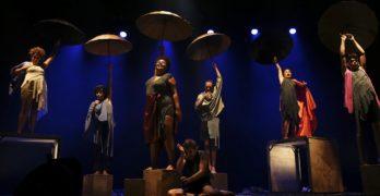 Espetáculo Além Aquém Daqui no Teatro Sesc Iracema