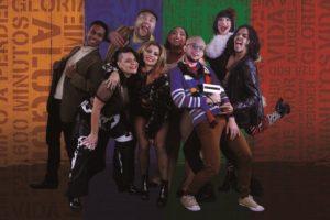 Espetáculo  RENT – o musical da Broadway, em cartaz no Teatro Celina Queiroz