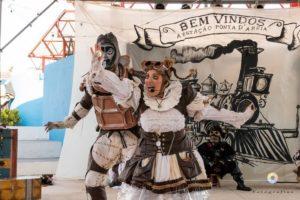 Praças, teatros e terminais de ônibus viram palco para receber a 10ª edição do Festival Popular de Teatro de Fortaleza