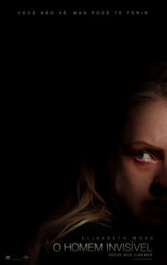 """Com Elisabeth Moss, thriller psicológico """"O Homem Invisível"""" ganha primeiro trailer e cartaz"""
