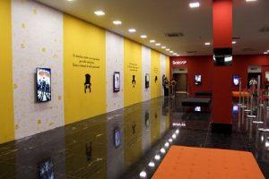 Promoção no cinema do do Shopping Eusébio