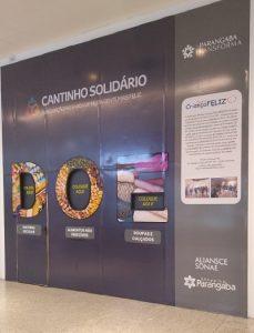 'Cantinho Solidário' do Shopping Parangaba arrecada doações para o Projeto Criança Feliz