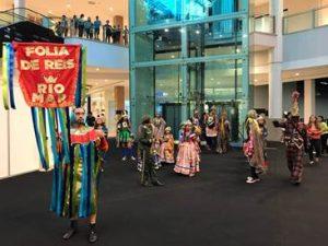 Folia de Reis é celebrada no RioMar Fortaleza