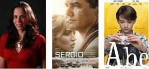 """Com edição assinada pela brasileira Claudia Castello, filmes """"Sergio"""" e """"Abe"""" chegam ao streaming"""