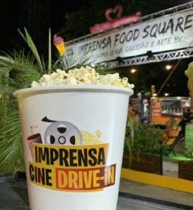 Imprensa Food Square inaugura cinema drive-in em parceria com o Cineteatro São Luiz e o Cinema do Dragão