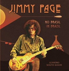 Relação de Jimmy Page com o  Brasil é tema de livro