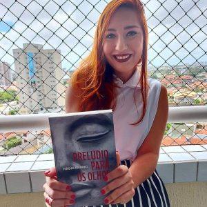 """Atriz Nádia Fabrici estreia na literatura com o livro """"Prelúdio Para Os Olhos"""""""