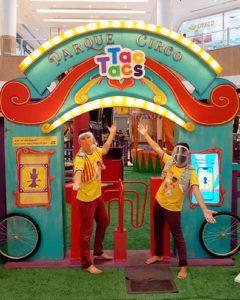 Parque Circo Tac Tacs no RioMar Kennedy
