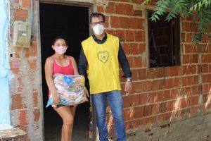 LBV faz entrega de alimentos e kits de higiene