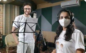 """Audiolivro da releitura de paz """"João e Maria""""  será apresentado em única sessão"""