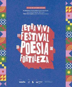 Letra Viva –  III Festival da Poesia de Fortaleza lança publicação e webdocumentário