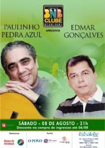 PAULINHO PEDRA AZUL E EDMAR GONÇALVES