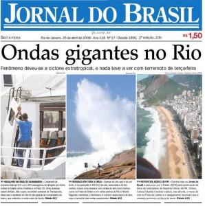FIM DA VERSÃO IMPRESSA DO JORNAL DO BRASIL
