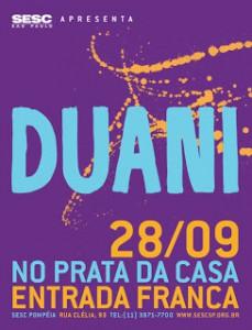 DUANI FAZ SHOW EM SÃO PAULO