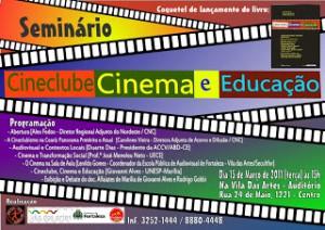 CINECLUBE, CINEMA E EDUCAÇÃO EM DEBATE