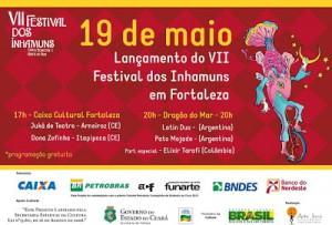 LANÇAMENTO DO VII FESTIVAL DOS INHAMUNS