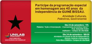 DIA DA INDEPENDÊNCIA DE GUINÉ BISSAU COMEMORADO NA UNILAB