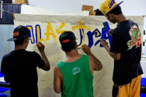Jovens da Barra do Ceará participam do Alastra Cultura
