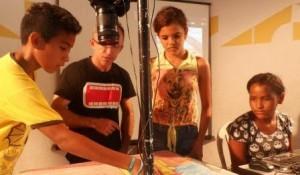 Projeto Cine Ceará Itinerante inicia terceira semana de oficinas em comunidades de Fortaleza