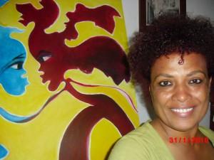 Artista cabo-verdiana realiza vivência na  Quarta Cultural Maciço de Arte