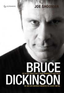 Biografia de Bruce Dickson em edição brasileira