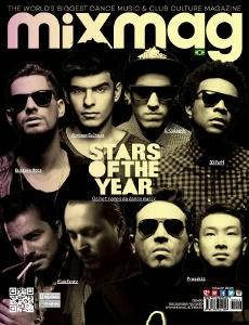 MixMag Brasil chega a 20ª edição com capa exclusiva