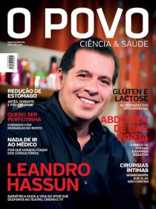 Leandro Hassum é capa da revista O POVO Ciência & Saúde