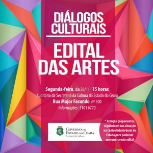 Secult discute Edital Ceará de Incentivo às Artes 2015