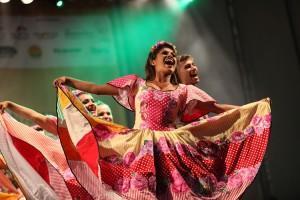 Danças populares no projeto Terreiro da Tradição