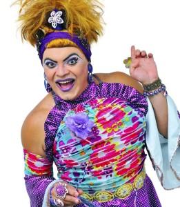 Show de humor com Madame Mastrogilda no Shopping Parangaba