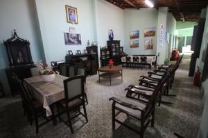 Alunos de escola do Vicente Pinzon visitam a  Casa de Juvenal Galeno