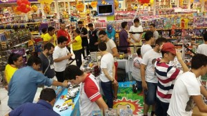 Via Sul Shopping realiza exposição de carros em miniaturas