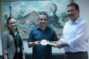 Vila da Música: Secult recebeu as chaves de seu primeiro equipamento cultural no Interior