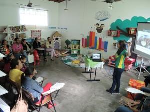 Educadores de Escola Pública em Beberibe recebem especialistas  para formação em Contação de Histórias