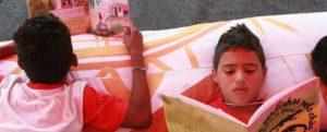 Projeto Baú de Leitura entrega 800 livros na Semana das Crianças no Ceará