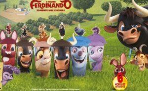 Nova campanha do Divino Fogão traz copos colecionáveis de personagens do 'Touro Ferdinando'