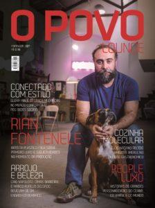 Rian Fontenele estrela capa da  revista O POVO Lounge