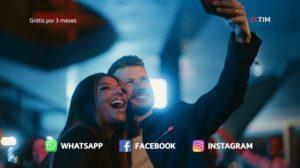 Ludmilla e Rodrigo Hilbert estrelam campanha da TIM