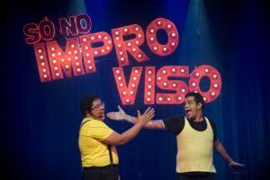 """Espetáculo """"Só No Improviso: Conceito"""" no Teatro Eva Hertz em Fortaleza"""