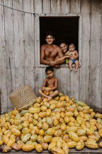 Série de fotografias 'Cacau do Brasil' encanta visitantes do Salão do Chocolate de Paris