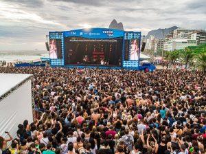 Verão TIM: shows nas praias cariocas e patrocínio a grandes eventos na cidade