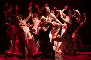 """Espetáculo """"Tempo"""" no Teatro Brasil Tropical"""