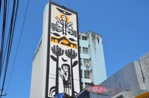 ACI  lança mural artístico