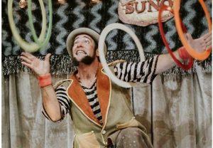 Live de circo com a Cia Suno