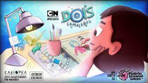 """Cartoon Network dá vida a histórias criadas por meninas em curta animado """"Garotas Desenham Garotas: Dois Camaleões"""""""